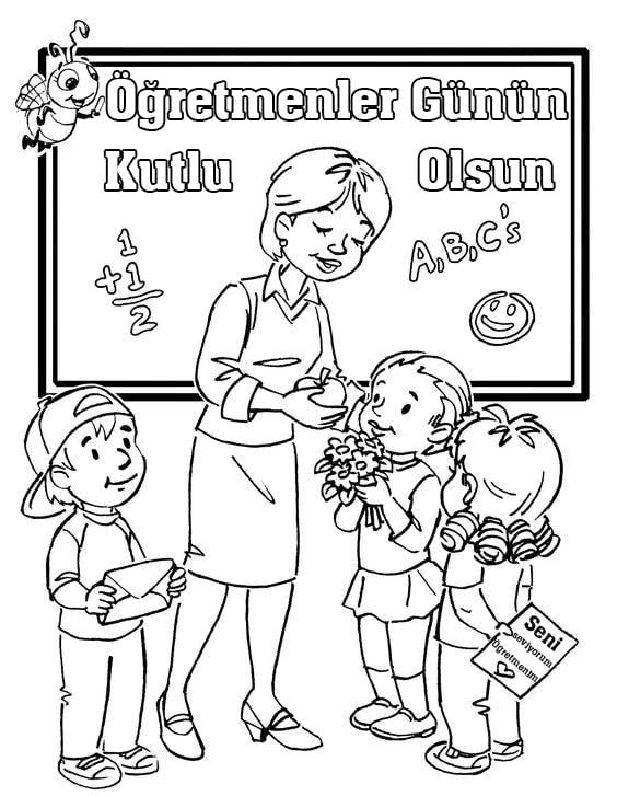 24 Kasım öğretmenler Günü Tüm Dokümanlar Boyama Müzikler