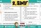 2.Sınıf İhtiyaç Listesi – Word'de Düzenleyebilirsiniz