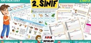 2.Sınıf FUFUK Haftalık Ödev – 2.Hafta